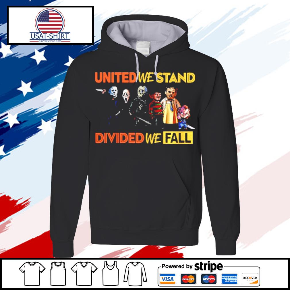Perfect United We Stand Divided We Fall s hoodie