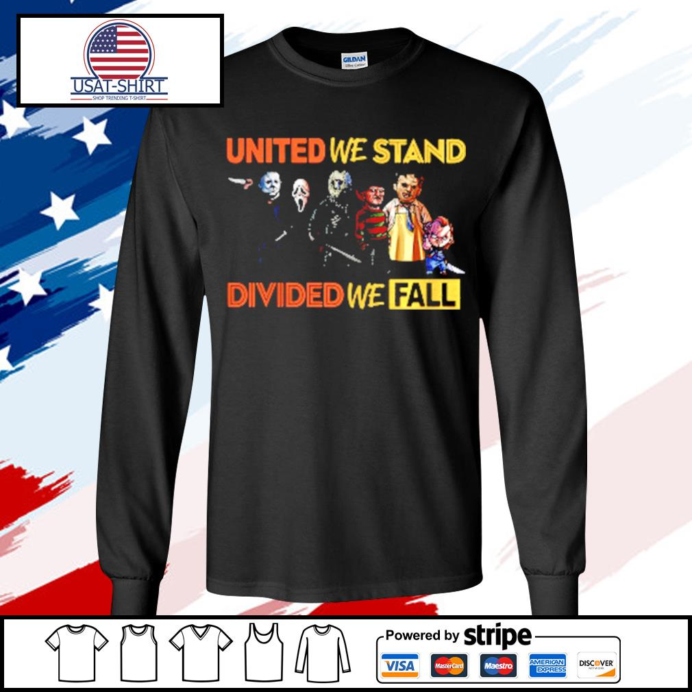 Perfect United We Stand Divided We Fall s longsleeve-tee