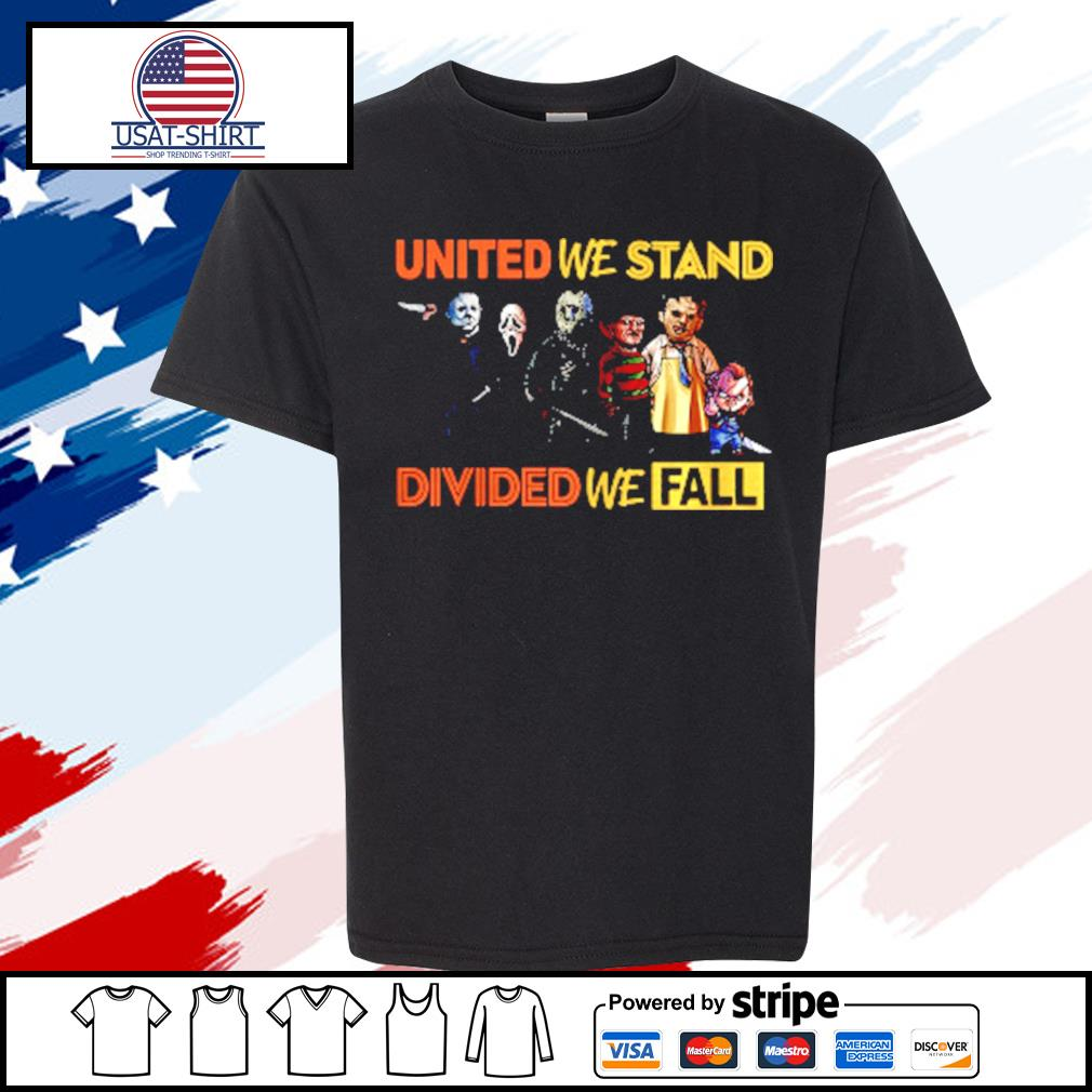 Perfect United We Stand Divided We Fall s youth-tee