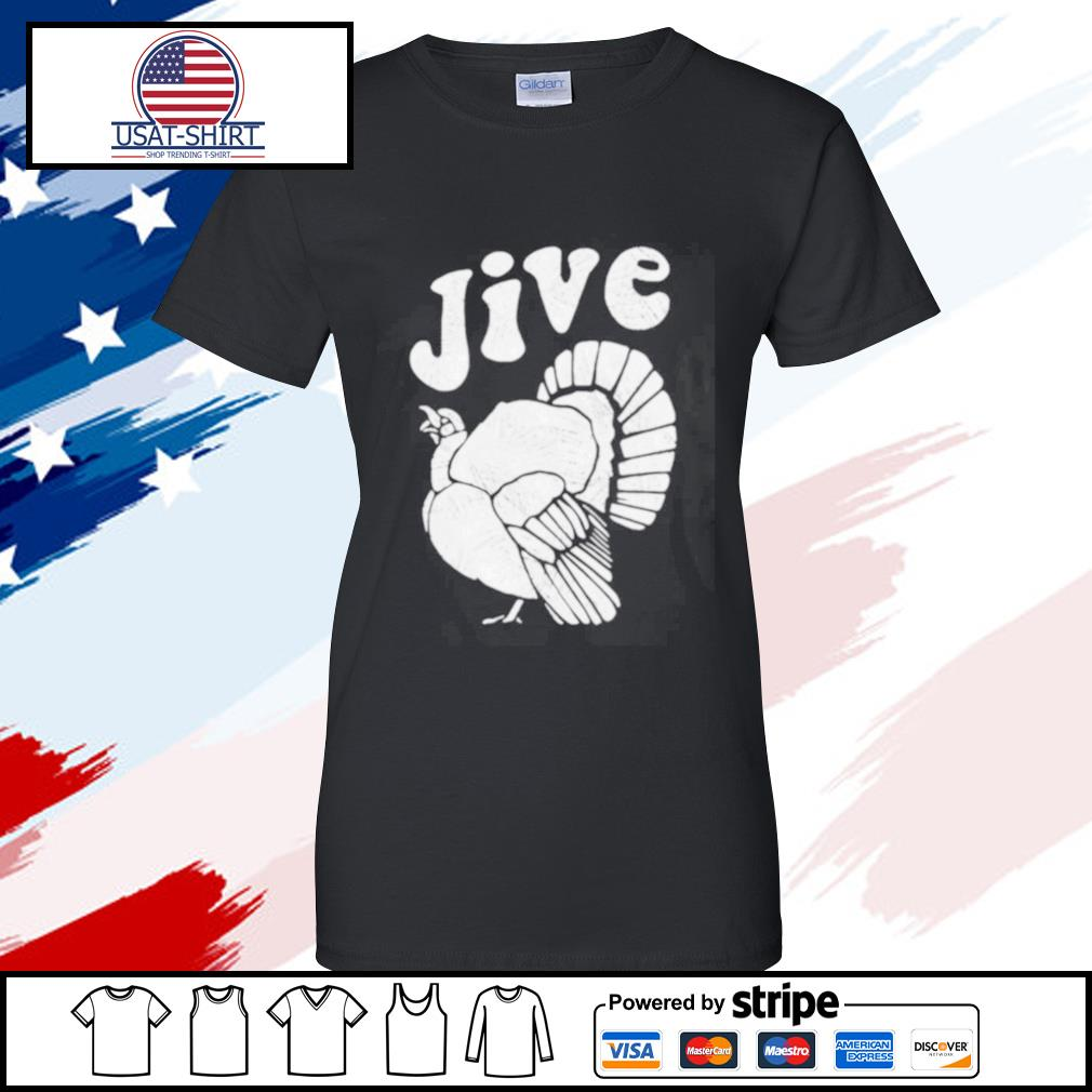 Thanksgiving Jive Turkey s ladies tee