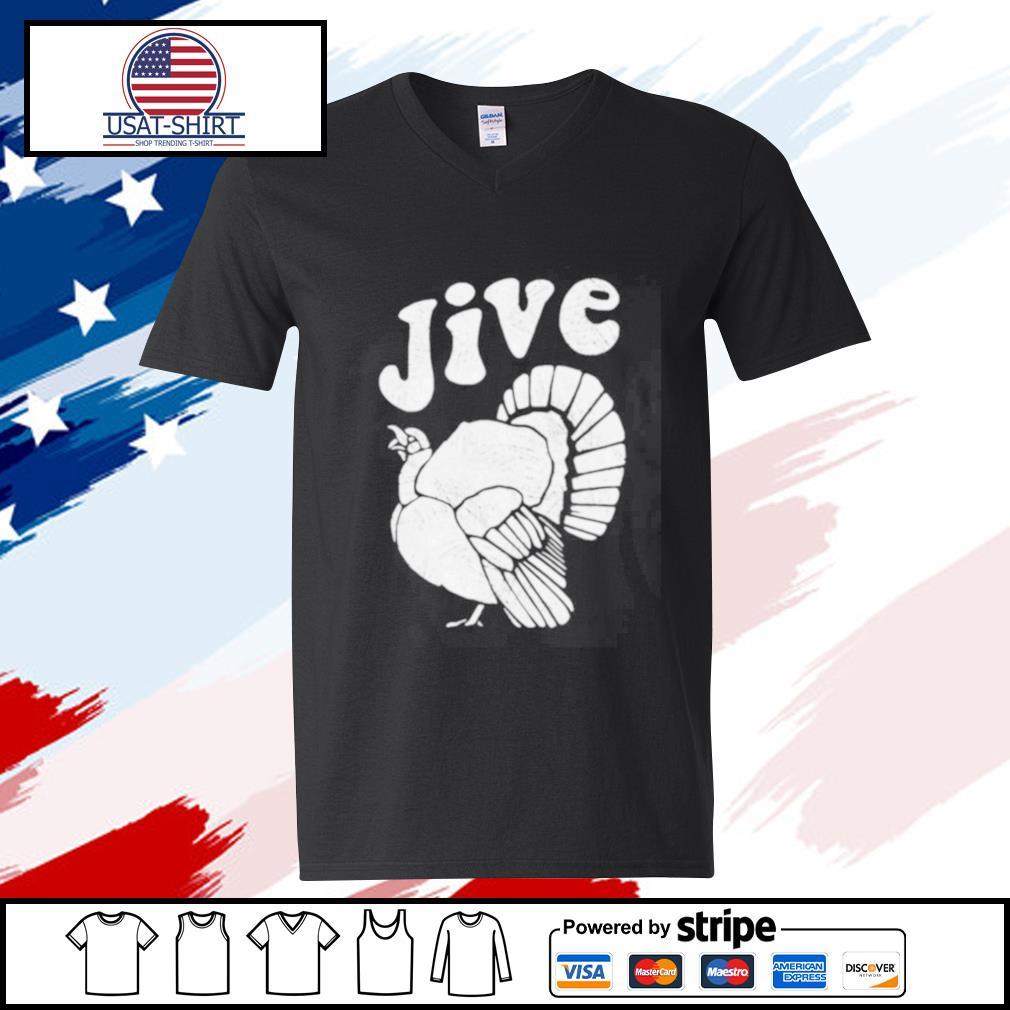 Thanksgiving Jive Turkey s v-neck-t-shirt