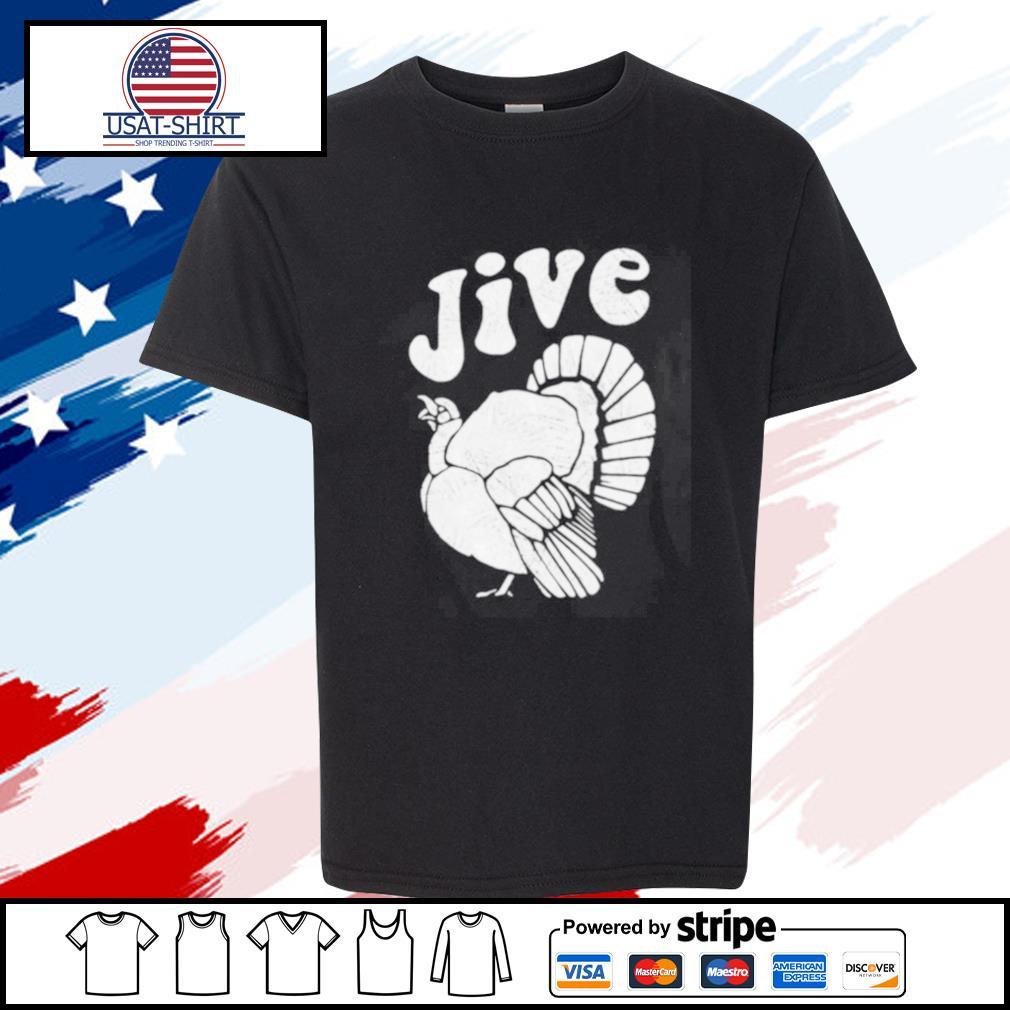Thanksgiving Jive Turkey s youth-tee