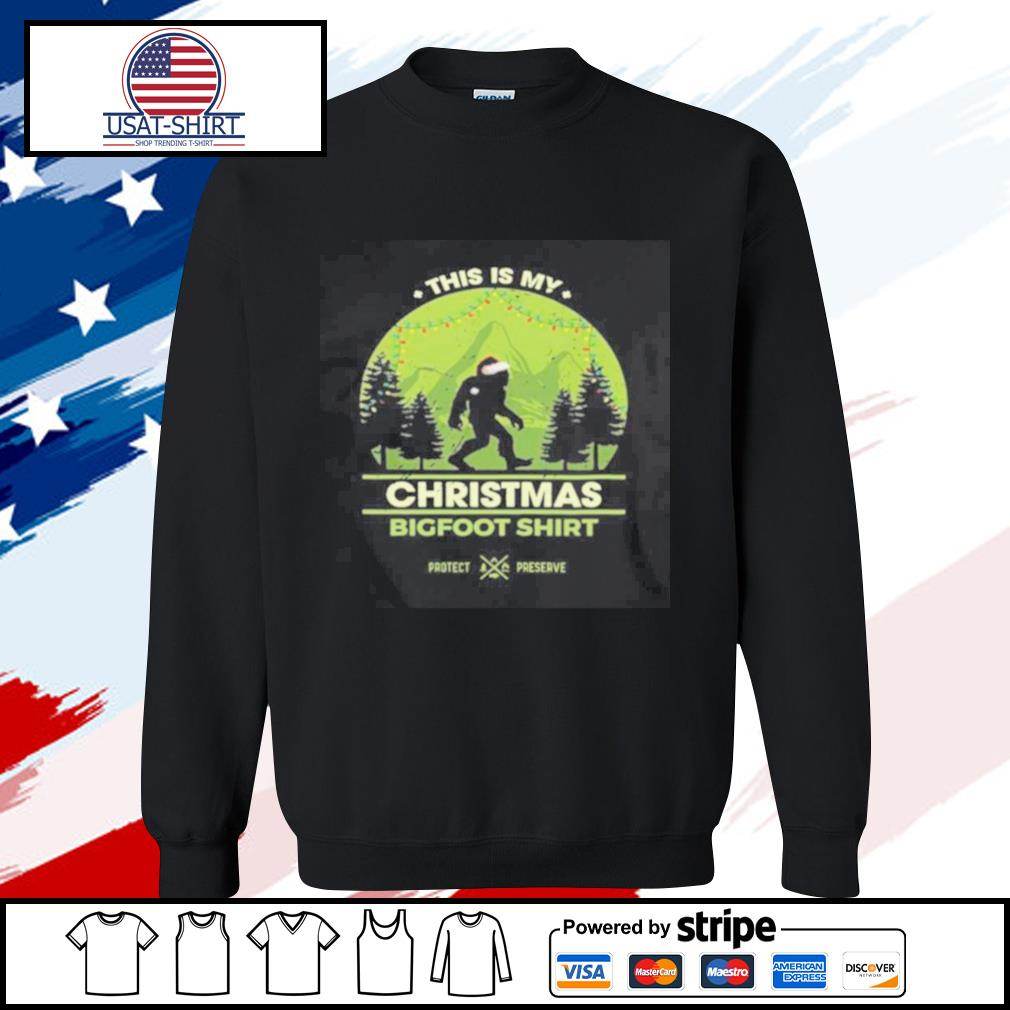 This Is My Christmas Bigfoot s sweater
