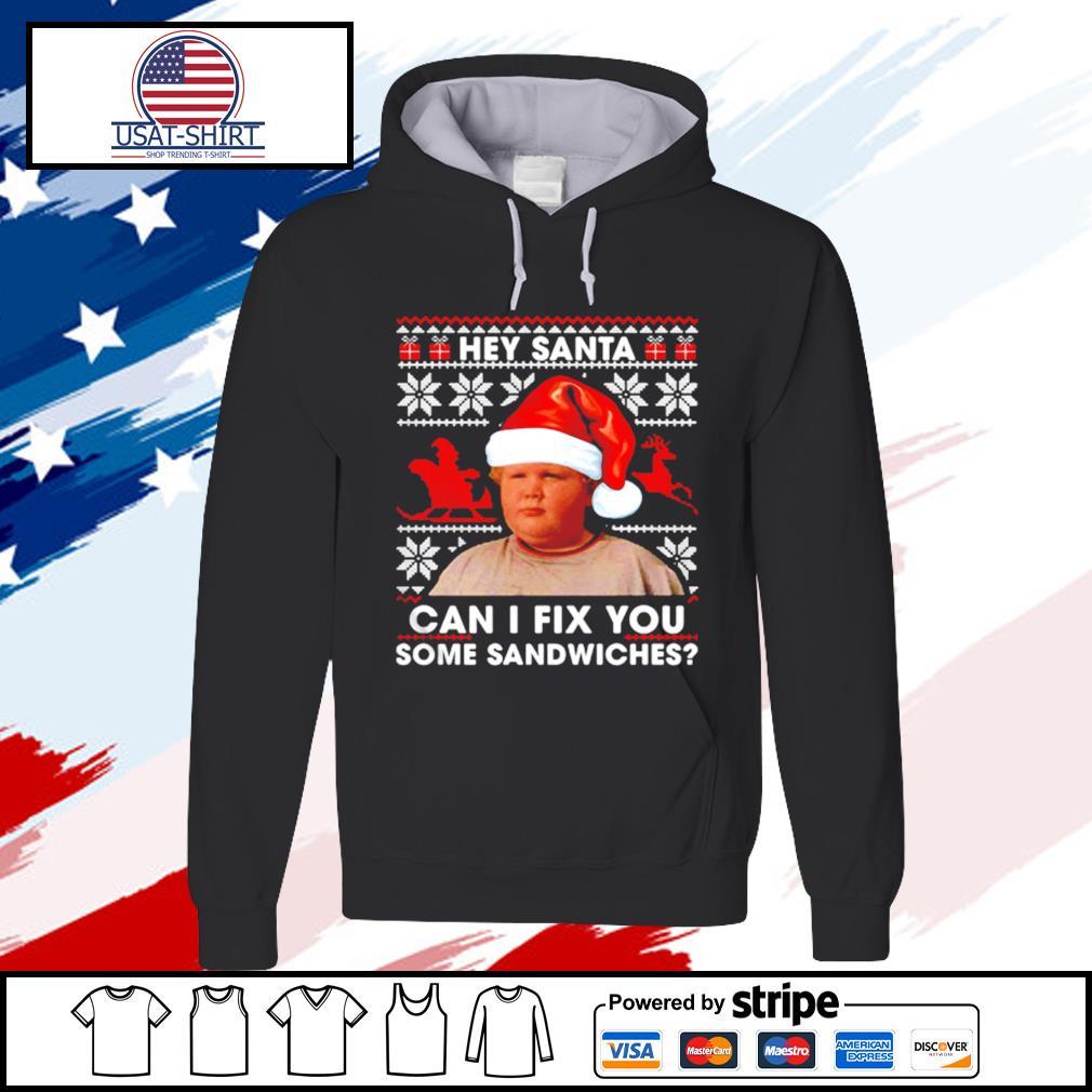 Thurman Merman hey Santa can I fix you some sandwiches s hoodie