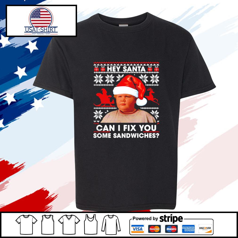 Thurman Merman hey Santa can I fix you some sandwiches s youth-tee